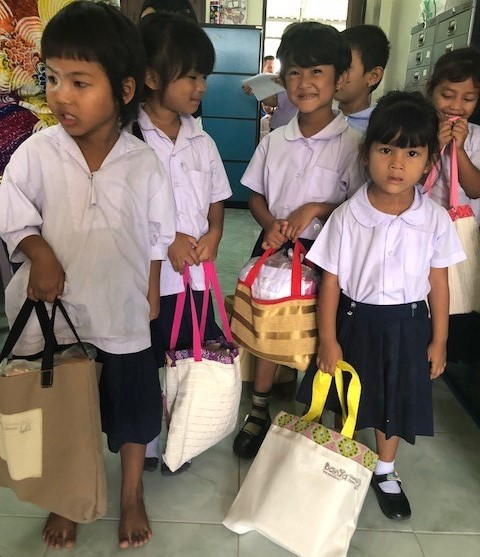 Book bags for youngsters @ BanYa
