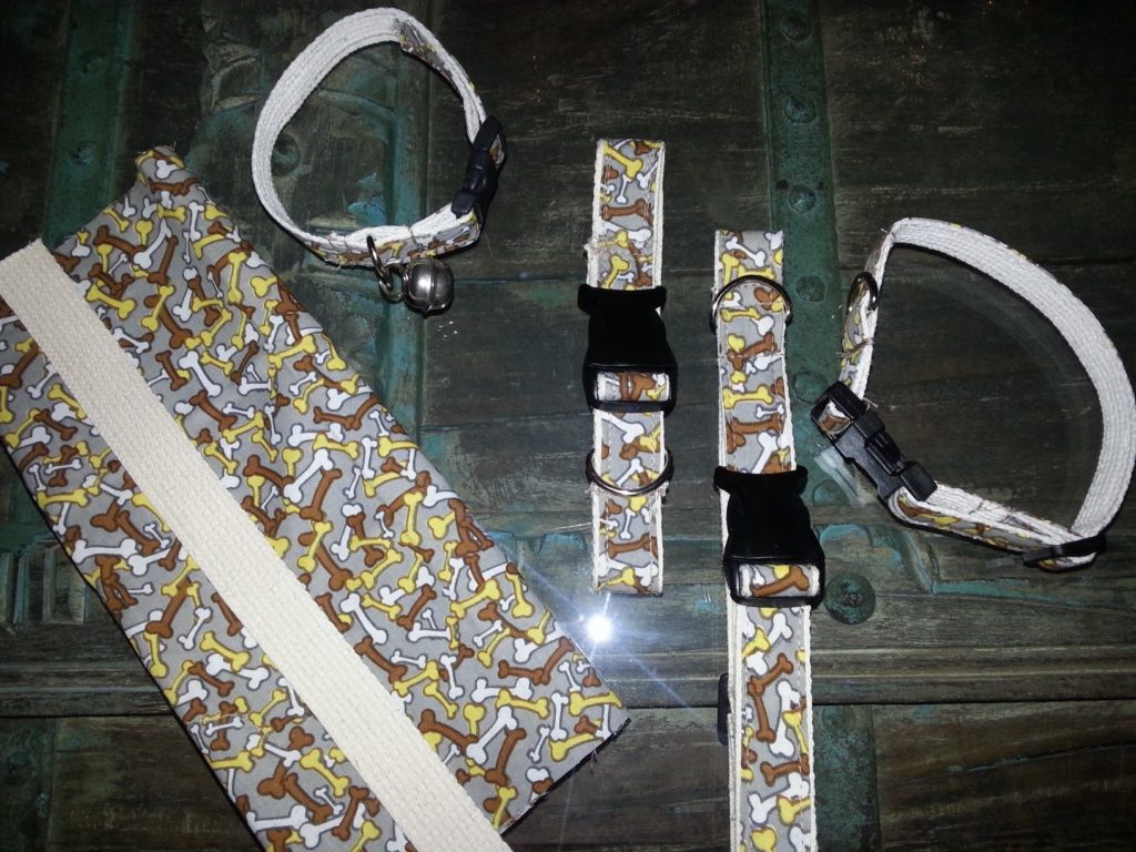 Prototype dog collars